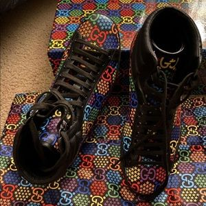 GUCCI Psychedelic High-cut Shoes
